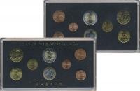 Изображение Подарочные монеты Греция Евронабор 2002-2004 0  UNC