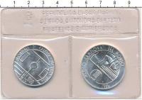 Изображение Подарочные монеты Сан-Марино Чемпионат мира по футболу 1986 1986 Серебро UNC