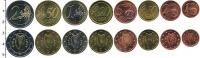 Изображение Наборы монет Эстония Евронабор 2009 2009  UNC