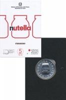 Изображение Подарочные монеты Италия 5 евро 2021 Серебро UNC Юбилейная монета Ита