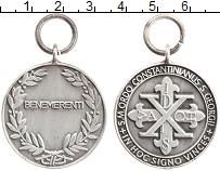 Изображение Монеты Ватикан Жетон 0 Посеребрение XF Церковный жетон.Похв