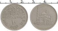 Изображение Монеты Египет 10 пиастр 1984 Медно-никель VF