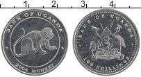 Изображение Монеты Уганда 100 шиллингов 2004 Медно-никель XF
