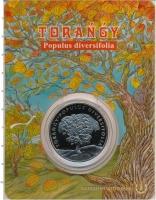 Изображение Подарочные монеты Казахстан 100 тенге 2020 Медно-никель UNC Туранга - тополь раз