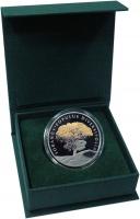Изображение Подарочные монеты Казахстан 200 тенге 2020 Медно-никель Proof Туранга - тополь раз