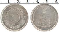 Изображение Монеты Пакистан 20 рупий 2011 Медно-никель UNC 150 лет Колледжу Лоу