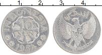 Изображение Монеты Индонезия 10 сен 1954 Алюминий XF