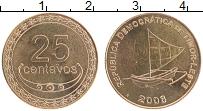 Изображение Монеты Тимор 25 сентаво 2006 Бронза UNC