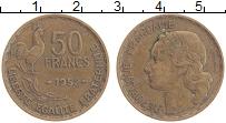 Изображение Монеты Франция 50 франков 1952 Бронза XF