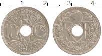 Изображение Монеты Франция 10 сантим 1939 Медно-никель XF
