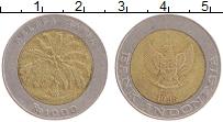 Изображение Монеты Индонезия 1000 рупий 1996 Биметалл XF