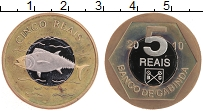 Продать Монеты Кабинда 5 рейс 2010 Биметалл