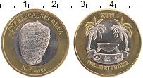 Продать Монеты Уоллис и Футуна 10 франков 2011 Биметалл