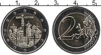 Изображение Мелочь Литва 2 евро 2020 Биметалл UNC- Гора крестов