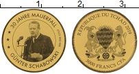 Продать Монеты Чад 3000 франков 2019 Золото