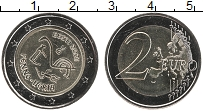 Продать Монеты Эстония 2 евро 2021 Биметалл