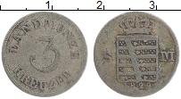 Продать Монеты Саксе-Мейнинген 3 крейцера 1830 Серебро