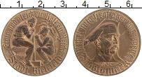 Продать Монеты Германия : Нотгельды 1 золотая марка 1923 Латунь