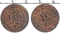 Продать Монеты Росток 3 пфеннига 1741 Медь