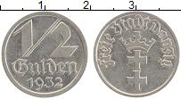 Продать Монеты Данциг 1/2 гульдена 1932 Медно-никель