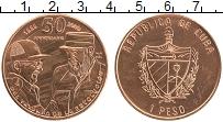 Продать Монеты Куба 1 песо 2009 Медь