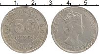 Продать Монеты Борнео 50 центов 1954 Медно-никель