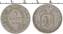 Продать Монеты Базель 3 батзена 1809 Серебро