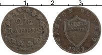 Продать Монеты Вауд 2 1/2 раппа 1809 Серебро