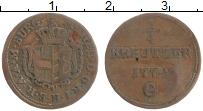 Продать Монеты Бургау 1/4 крейцера 1772 Медь