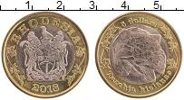 Продать Монеты Родезия 5 долларов 2018 Биметалл