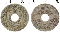 Продать Монеты Восточная Африка 5 центов 1914 Медно-никель