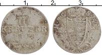 Продать Монеты Саксен-Кобург-Саалфелд 3 крейцера 1805 Серебро