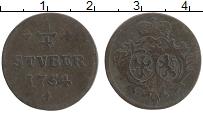 Продать Монеты Сайн-Альтенкирхен 1/4 стюбера 1759 Медь