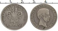 Продать Монеты Тоскана 1 фиорино 1859 Серебро