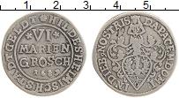 Продать Монеты Хильдесхайм 6 марьенгрош 1689 Серебро