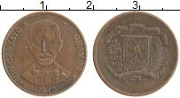 Продать Монеты Доминиканская республика 1 сентаво 1979 Бронза