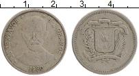 Продать Монеты Доминиканская республика 25 сентаво 1978 Медно-никель