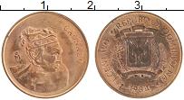 Продать Монеты Доминиканская республика 1 сентаво 1984 Медь