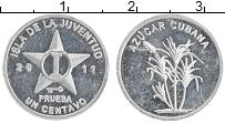 Продать Монеты Куба 1 сентаво 2011 Алюминий