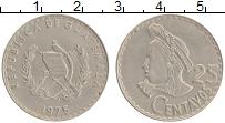 Продать Монеты Гватемала 25 сентаво 1975 Медно-никель
