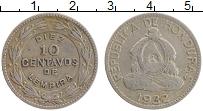 Продать Монеты Гондурас 10 сентаво 1932 Медно-никель