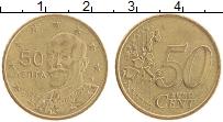 Продать Монеты Греция 50 евроцентов 2008 Латунь
