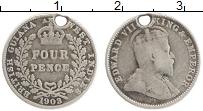 Продать Монеты Британская Гвиана 4 пенса 1903 Серебро