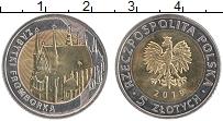Продать Монеты Польша 5 злотых 2019 Биметалл