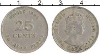 Продать Монеты Белиз 25 центов 1985 Медно-никель