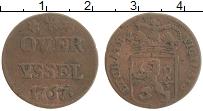 Продать Монеты Овериссель 1 дьюит 1767 Медь