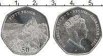 Продать Монеты Гибралтар 50 пенсов 2020 Медно-никель