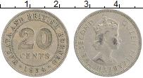 Продать Монеты Борнео 20 центов 1961 Медно-никель