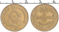 Продать Монеты Гондурас 5 сентаво 1989 Латунь