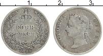 Продать Монеты Британская Гвиана 4 пенса 1891 Серебро